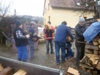03. Chystání dřeva